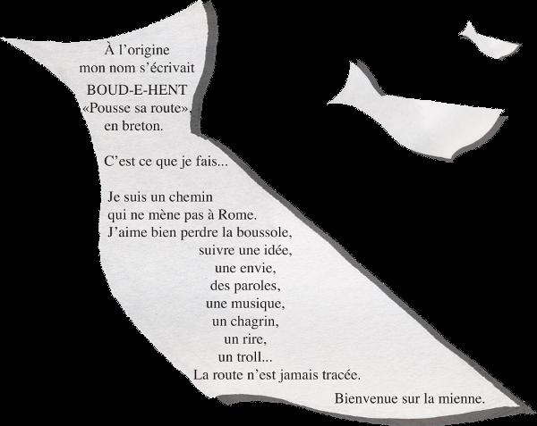 Pousse sa route en breton